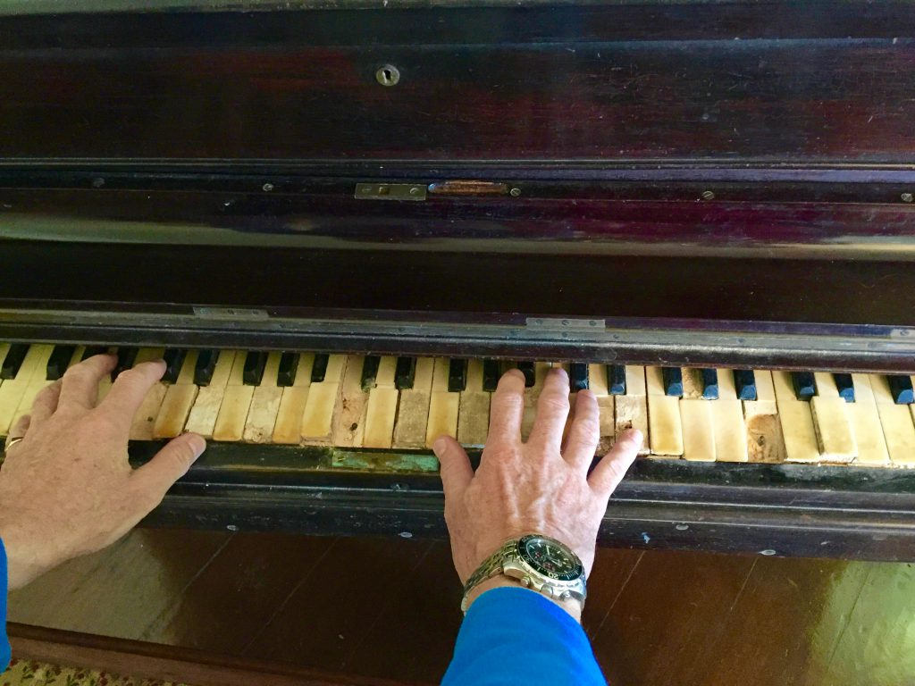 It has been a long time since these ivories were tinkled